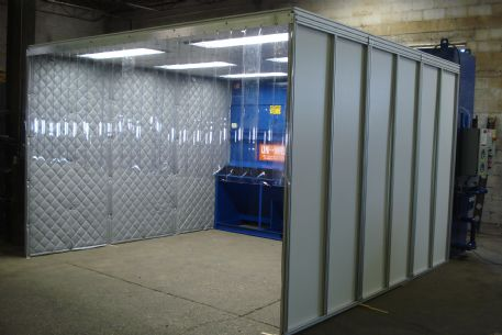 Provent Uni Wash Uewc Series Wet Type Booth